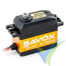 Servo digital Savox SC-1267SG HV, 62g, 20Kg.cm, 0.095s/60º, 6V-7.4V