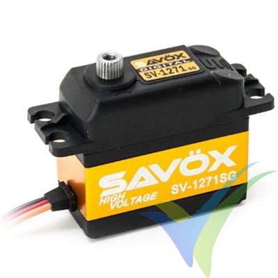 Servo digital Savox SV-1271SG HV, 63g, 25Kg.cm, 0.08s/60º, 6V-7.4V