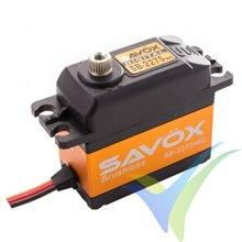 Servo digital Savox SB-2275MG Brushless HV, 69g, 9Kg.cm, 0.042s/60º, 6V-7.4V