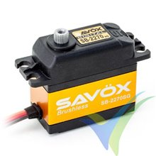 Servo digital Savox SB-2270SG, Brushless HV, 69g, 32Kg.cm, 0.12s/60º, 6V-7.4V