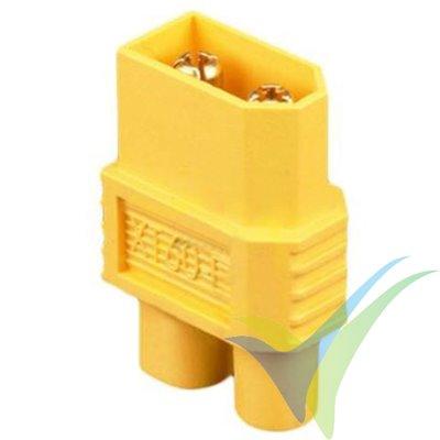 Adaptador de conector XT60 macho a EC3 hembra (en una pieza)
