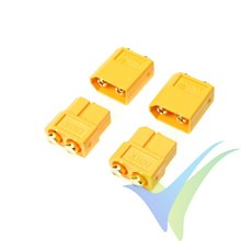 G-Force RC - Connector - XT-60PB - Gold Plated - Male + Female - 2 pairs