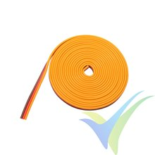 2m cable de servo, G-Force, 0.33mm2 (22AWG) / 60 venillas