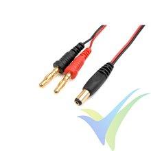 Cable de carga 50cm con conector TX Futaba, G-Force