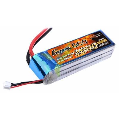Batería LiPo Gens ace 2600mAh (28.86Wh) 3S1P 25C 228.4g