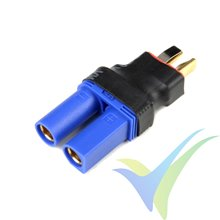 G-Force RC - Power Adapter Connector - Deans male <=> EC-5 female - 1 pc