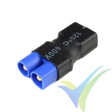 G-Force RC - Power Adapter Connector - Deans female <=> EC-3 male - 1 pc
