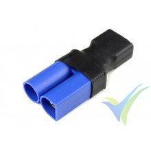 G-Force RC - Power Adapter Connector - Deans female <=> EC-5 male - 1 pc