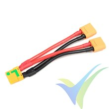 G-Force RC - Power Y-Lead - Parallel - XT-90 AS Anti-Spark - 10AWG Silicone Wire - 12cm - 1 pc