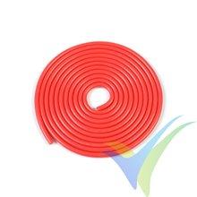 1m Cable de silicona rojo G-Force Powerflex PRO+, 0.52mm2 (20AWG), 255x0.05 venillas