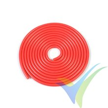 1m Cable de silicona rojo G-Force Powerflex PRO+, 0.52mm2 (20AWG), 255x0.05 venillas