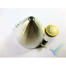 GEMFAN 50053, 50mm aluminium spinner for folding propeller, motor shaft 5mm, 26g
