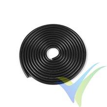 1m Cable de silicona negro G-Force Powerflex PRO+, 0.52mm2 (20AWG), 255x0.05 venillas