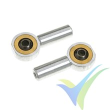 G-Force RC - Aluminium Ball Link - Inner thread M2 - Ball for M2 Screws - 2 pcs