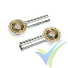 G-Force RC - Aluminium Ball Link - Inner thread M4 - Ball for M4 Screws - 2 pcs