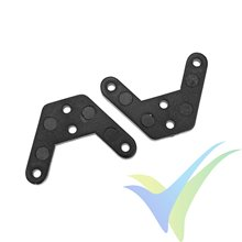 G-Force RC - Nylon Control Horn - Closed Loop - 2 pcs