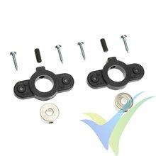 G-Force RC - Wheel Cover Holder - Shaft Dia. 3.5mm - 2 pcs