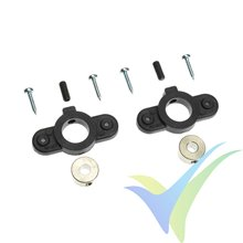 G-Force RC - Wheel Cover Holder - Shaft Dia. 4mm - 2 pcs