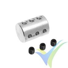 Desdoblador de mando en aluminio G-Force, para varillas 2mm