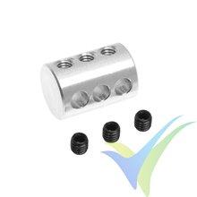 Desdoblador de mando en aluminio G-Force, para varillas 3mm