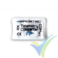 Conversor telemetría FF (Futaba, FrSky) para altímetro Altis