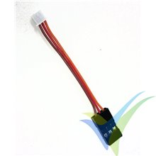 Cable telemetría 6cm para altímetro Altis