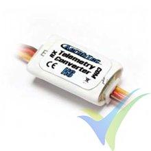 Conversor telemetría HS (Spektrum, Hitec) para altímetro Altis