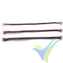 Cable DF13 4 pines, 15cm, para controladora de vuelo, 1 ud