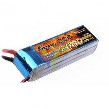 Batería LiPo Gens ace 2600mAh (28.86Wh) 3S1P 60C 241.2g Deans