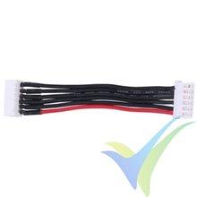Prolongador cable equilibrado JST-XH para LiPo 5S, 6 hilos 0.33mm2 (22AWG), 10cm