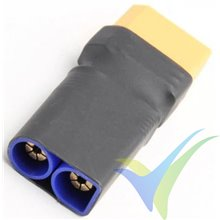 Adaptador de conector EC5 macho a XT90 hembra