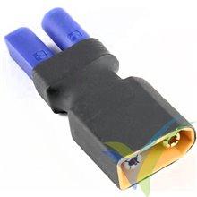 Adaptador de conector EC5 hembra a XT90 macho, 15.7g