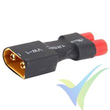 Connector adapter HXT 3.5mm female to XT60 male