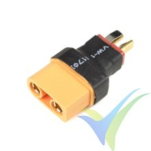 G-Force RC - Power Adapter Connector - Deans male <=> XT-90 female - 1 pc