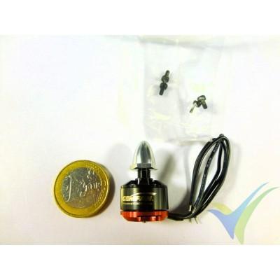 Motor brushless GEMFAN M1306R, 3100Kv, CW, 12.5g, para multirrotor