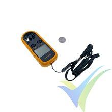 Anemómetro y termómetro digital Hyperion