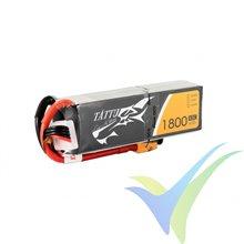 Batería LiPo Tattu - Gens ace 1800mAh (26.64Wh) 4S1P 45C 200g XT60