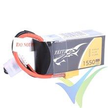 Batería LiPo Tattu - Gens ace 1550mAh (17.21Wh) 3S1P 45C 135g XT60