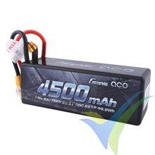 Batería LiPo Gens ace HardCase 14 4500mAh (99.90Wh) 6S1P 60C 631g XT90