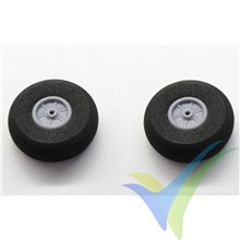 Robbe foam wheel 30x12x2mm 52000022, 2 pcs