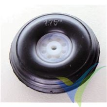 Rueda poliuretano 45x16x3mm Robbe 52000010, 1 ud