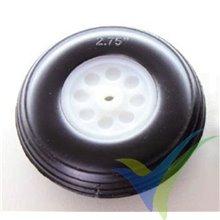 Polyurethane wheel 70x25x4mm Robbe 52000014, 1 pc