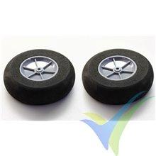 Robbe foam wheel 90x30x4mm 52000032, 2 pcs