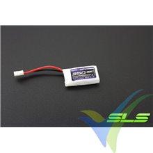 Batería LiPo SLS XTRON 350mAh (1.3Wh) 1S1P 30C 9g Molex