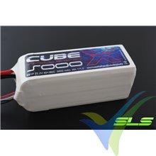 SLS X-CUBE LiPo battery 5000mAh (111Wh) 6S1P 40C 852g XT90