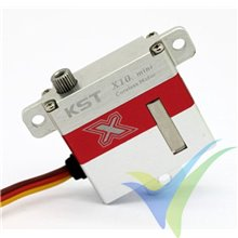 Servo digital KST X10 Mini HV, 23g, 7.5Kg.cm, 0.09s/60º, 6V-8.4V