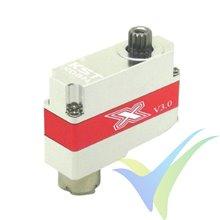 Servo digital KST X08N V5, 8g, 2.8Kg.cm, 0.09s/60º, 3.8V-8.4V