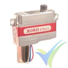 Servo digital KST X08H Plus, 9g, 5.3Kg.cm, 0.09s/60º, 3.8V-8.4V
