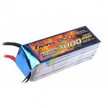 Batería LiPo Gens ace 3000mAh (44.4Wh) 4S1P 35C 365g Deans