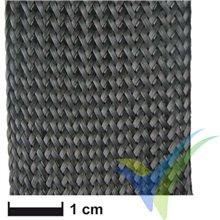 Manga de tela de fibra de carbono Ø 35mm/3K, rollo 10m